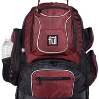 Ful Beale Street Backpack (Burgundy, Small):Amazon:Sports & Outdoors