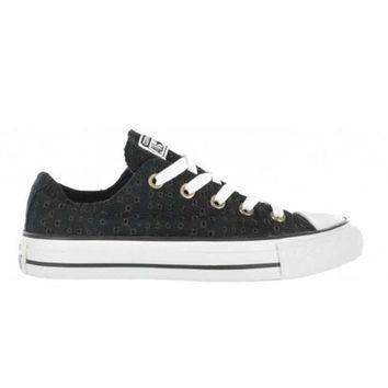 converse chuck taylor all star shoreline slip cutout black