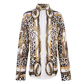 Leopard Afinia Button Up Shirt