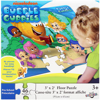 Bubble Guppies - Floor Puzzle 46 Pc