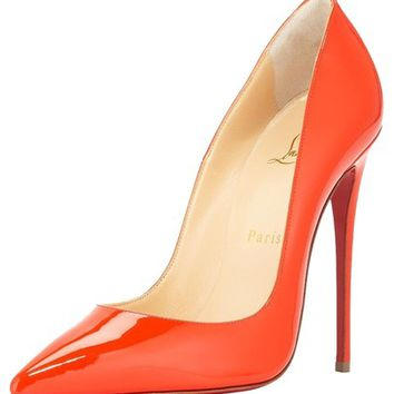 Christian Louboutin So Kate 120 Patent Capucine Pumps 27% off retail