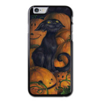 Halloween Witch, Goblin, Black Cat  iPhone 6 Hard Case (4.7 Inch) - Custom iPhone 6 Cases (4.7 Inch)