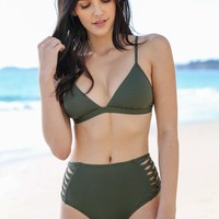L*Space Swim - Gabi Top | Fern