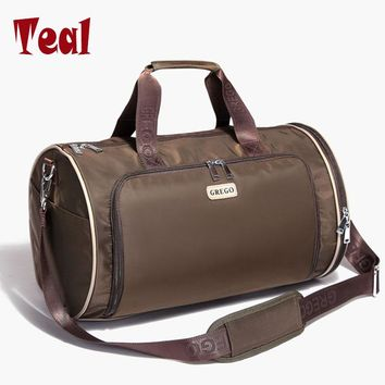 2017 new fashion Men Travel Bags brands Oxford Large Weekend Bag Large Capacity Brand Designer Business High-quality Luggage Bag