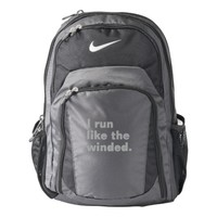 Funny I run like the winded runner workout humor Backpack