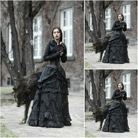 Victorian Gothic/Civil War Southern Belle Ball Gown Dress