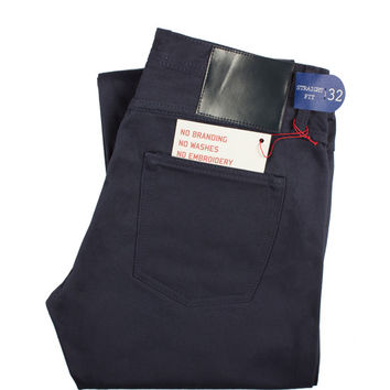 UB308 Straight Fit Navy Chino Selvedge - Old Fit