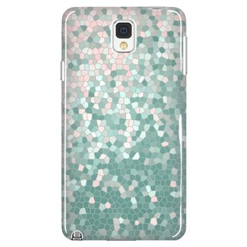 Confetti Rose Quartz and Mint Cell Phone Case for Galaxy and iPhones