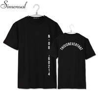 BTS SAVE ME 2016 summer couple tops tees t shirt letter print plus size paired t-shirts hot sale harajuku fashion t shirt new