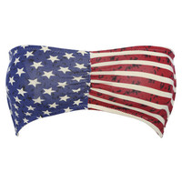 Flag Printed Bandeau | Shop Americana at Wet Seal