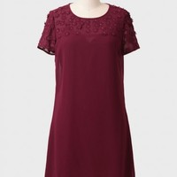 Rayleigh Embellished Shift Dress