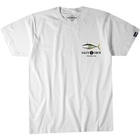 Salty Crew Ahi Tee Shirt - WHITE
