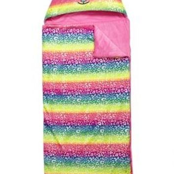 Rainbow Critter Hooded Sleeping Bag | Girls Bedding & Pillows Room Decor | Shop Justice