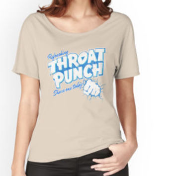 Refreshing Throat Punch T-Shirt by funnygifts