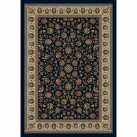 Milliken & Company P4510-C12000-S200 Persian Palace Sapphire Rectangular: 3 Ft. 10 In. x 5 Ft. 4 In. Rug  - (In Rectangular)