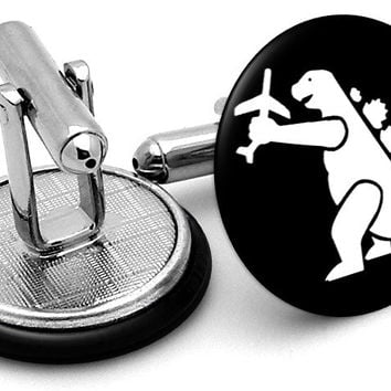 Godzilla Movie Cufflinks
