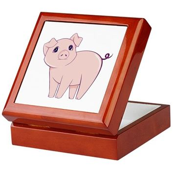 CUTE LITTLE PIGGY KEEPSAKE BOX
