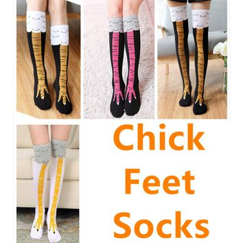 Foot 22-25cm Chicken Toe Socks Feet Claws Draw Chick Poult Hen Rooster Young Poultry Phoenix Pheasant Roseate Flamingo Platalea