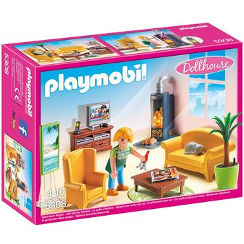 Playmobil 5308 Living Room with Fireplace