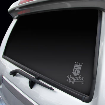 Kansas City Royals Chrome Window Graphic Decal