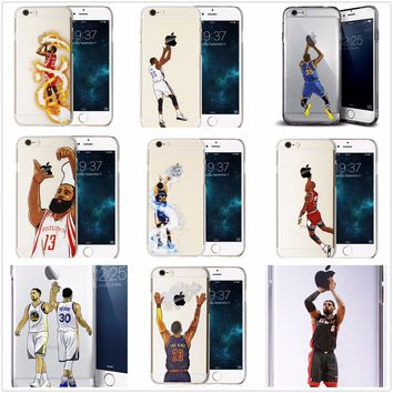Player [Stephen Curry] [KD] [LeBron James] [Harden] Case Cover For iphone 6/7 +