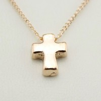 Dainty Cross Necklace from P.S. I Love You More Boutique