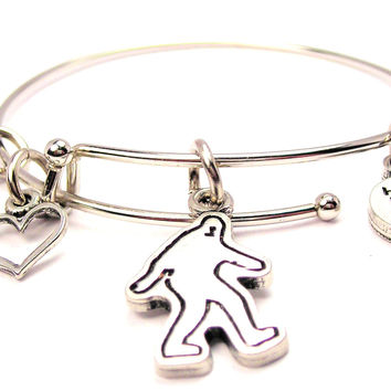 Bigfoot Bangle Bracelet