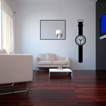 Vinyl Wall Decal Sticker Wall Watch #OS_MG172