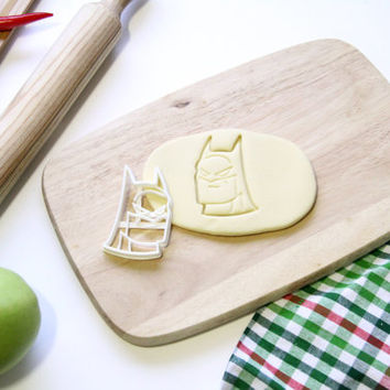Batman Cookie Cutter Cupcake topper Fondant Gingerbread Cutters - Made from Eco Friendly Material