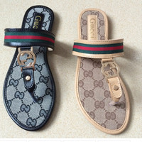 Ladies Gucci Slide On Sandals