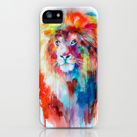 Lion iPhone & iPod Case by Slaveika Aladjova