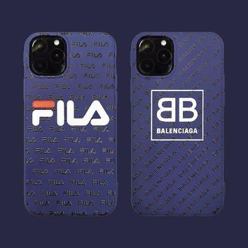 NEW IPHONE 11 FILA X BALENC PROTECTIVE IPHONE CASE (Various Models)