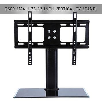 ac NOOW2 Flat Screen Bracket 26-32 inch LED LCD TV Stand Mount Bracket Glass Base