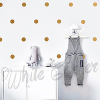 Polka Dot Wall Decals - Polka Dot Set, Nursery Decals, Confetti Decals, Modern Wall Decals, Modern Decor, Scandinavian Decor,Kids Decor ga3