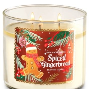 3-Wick Candle Spiced Gingerbread