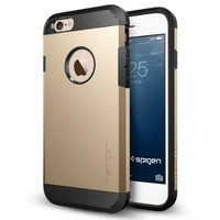 iPhone 6 Case, Spigen® [Tough Armor] Heavy Duty [Champagne Gold] Dual Layer EXTREME Protection Cover Heavy Duty Case for iPhone 6 (2014) - Champagne Gold (SGP10970)
