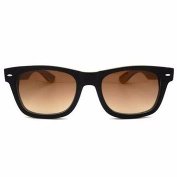Black Bamboo Wood Sunglasses