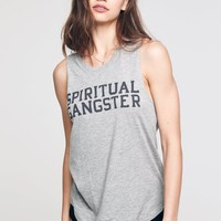 SG VARSITY MUSCLE TANK HEATHER GREY
