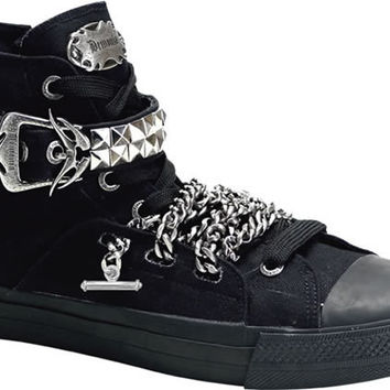 Deviant-110,Demonia, Demonia Boots, Punk Shoes, Punk Boots, Creepers, Demonia Shoes