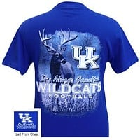UK Kentucky Wildcats Gametime Deer Unisex Bright T Shirt