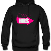 hers - his left side Hoodie