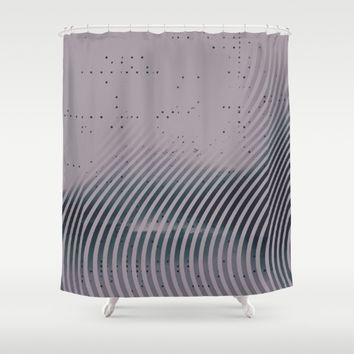 m-0125 Shower Curtain by DuckyB