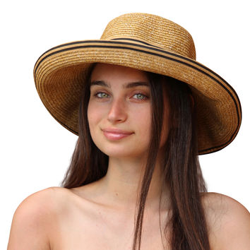 Palms & Sand Napa Womens Beach Hat Sun Hat with UV Sun Protection UPF 50+