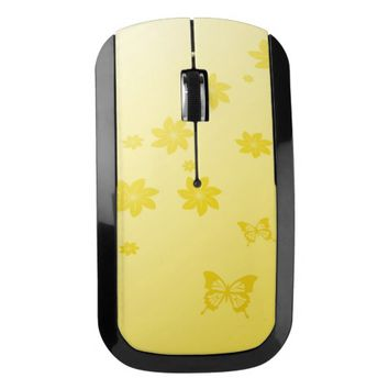 Sunshine Flowers Wireless Mouse