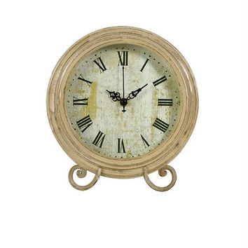 Tabletop Clock - Vintage Distressed Frame
