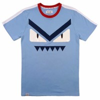 Monster PU&Self Applique W/Tape Slev Tee