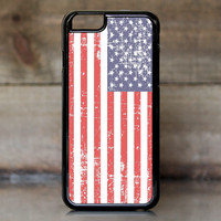 Grunge USA Flag Case for Apple iPhone 6