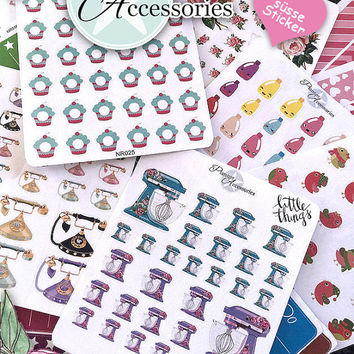 Sticker Cup of Coffee Kawaii -  Erin Condren, Happy Planner, Filofax, Kikki K - NR006
