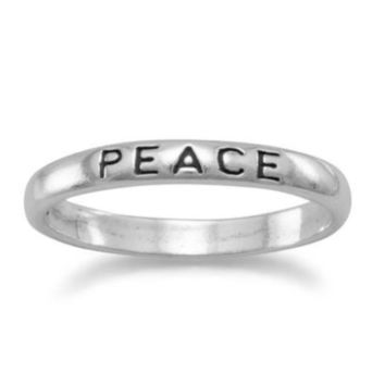 Peace Band Ring