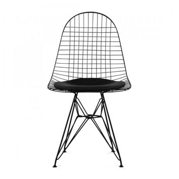 Modern Black Wire Reproduction DKR Eiffel Chair